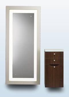 Illumination mirror i 4000 for Beauty salon mirrors with lights